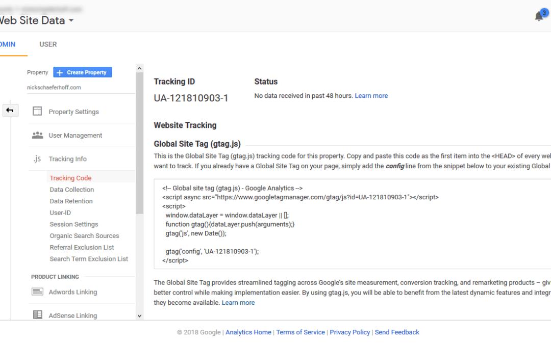 Analytics Tracking Code